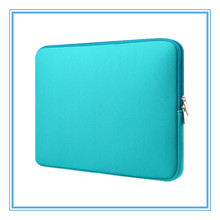 2017 custom printed lightweight 15.6 inch neoprene laptop sleeve wholesale