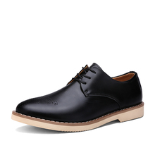 2016 Hot sale classic lace-up leather men formal shoes