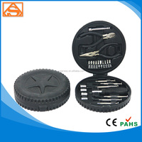 24 pcs auto tire shape hand tools set / Promotion tools set