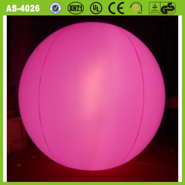 Factory direct high quality advertising light inflatable helium balloon wholesale