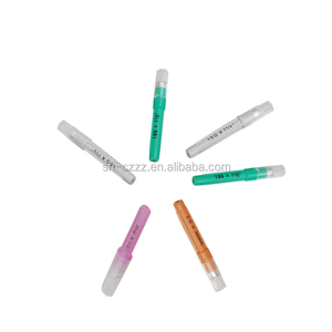 Aluminum veterinary hub needles With Colo-coded Cartridges