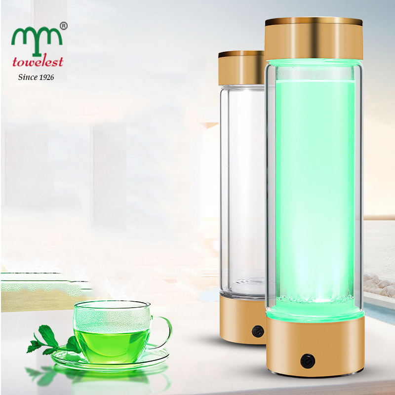 China supplier High-tech health maintenance anion hydrogen rich water bottle