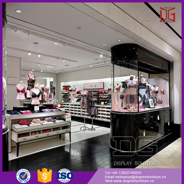 Boutique Department Lingerie Store Display Furniture