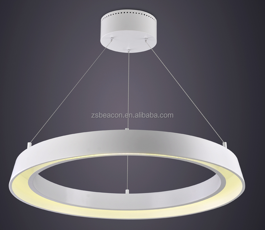 New Italian design wireless led hanging light led chandelier light ring light