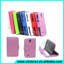 Wholesale New Poducts for Samsung galaxy s4 luxury Leather Case Flip Case for Samsung galaxy s4