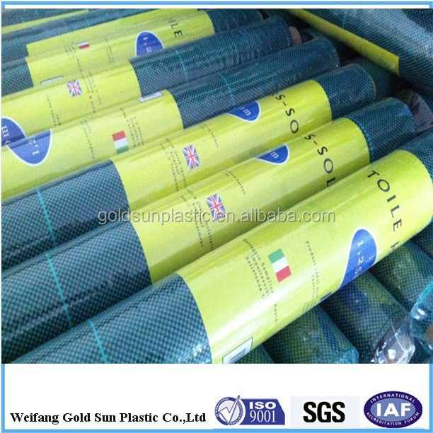 PP woven fabric as weed mat/ground cover/silt fence/landscaping/geotextiles