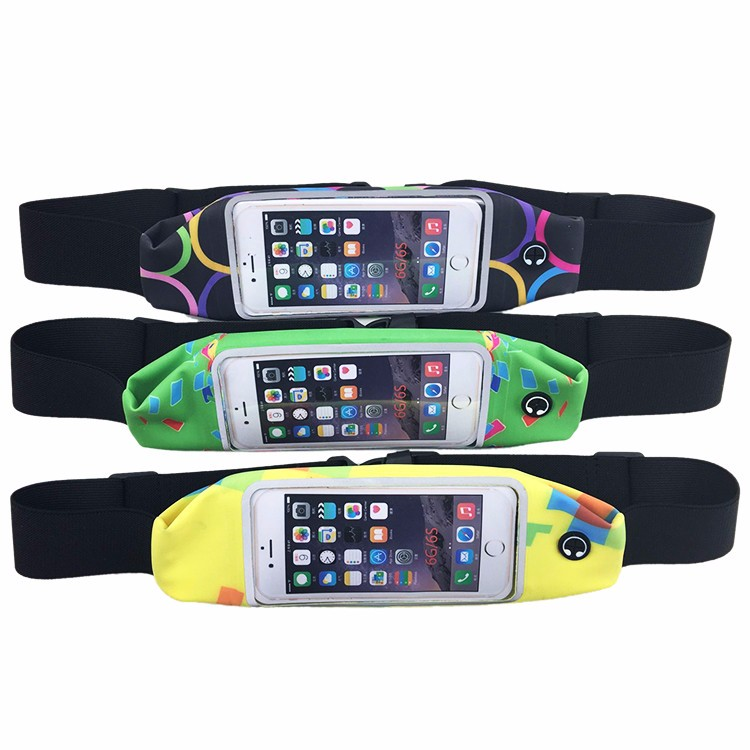 Running Belt with Pouch Fits All Smartphones Runner Waist Pack
