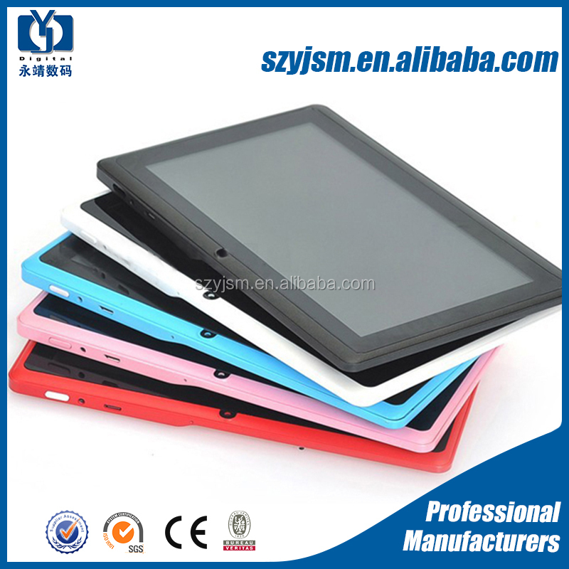 Wholesale Multi-color choice patented mold 7inch a23 android tablet for kids