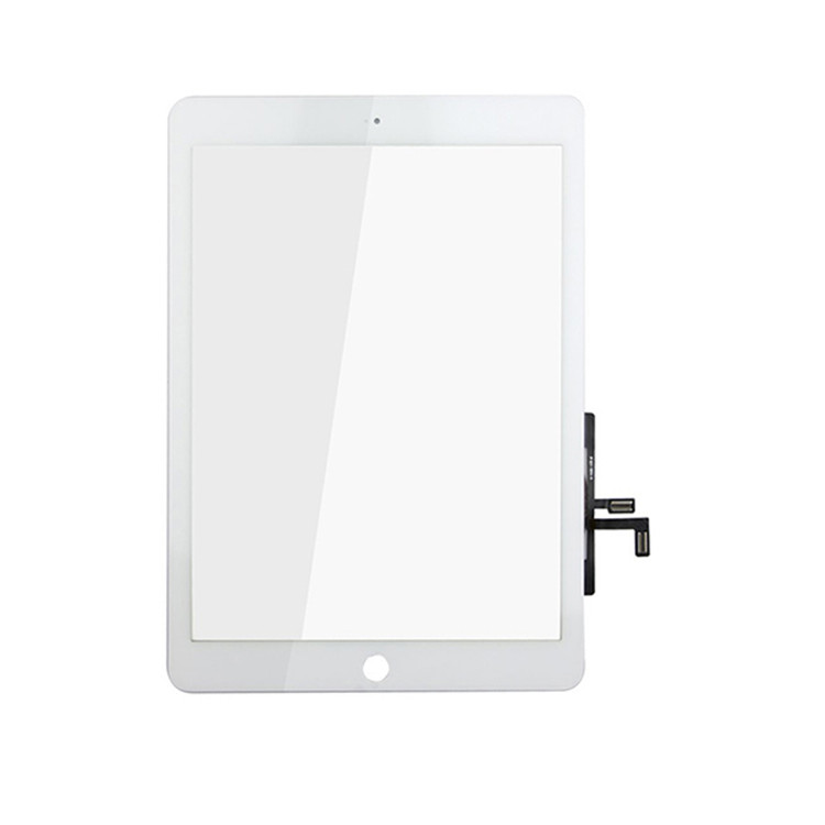 White 9.7 For iPad Air 5 Glass Lens Touch Screen Digitizer + Home Button A1474 A1475