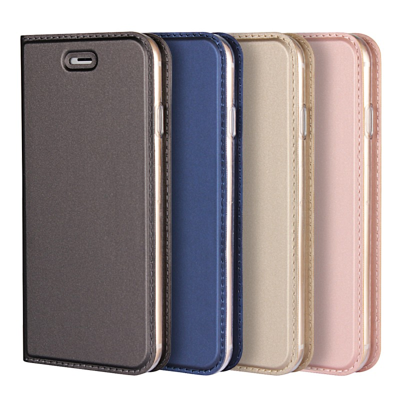 Wholesale Luxury Book Flip Carcasa Coque Cover For Apple iPhone X 6 6s 7 8 Plus Case Leather Wallet Mobile Phone