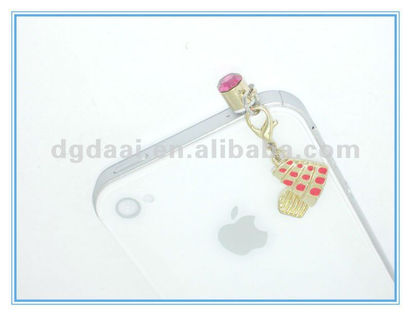 smaller charms dustproof plug ear cap
