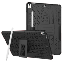 Heavy Duty Kickstand Shockproof Protective Case Cover for iPad Pro 10.5 for Apple new iPad 2017