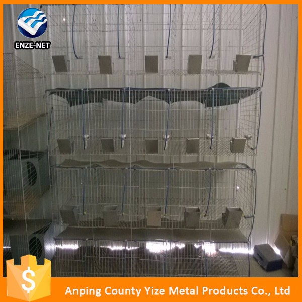 Transport welded metal used rabbit breeding cages
