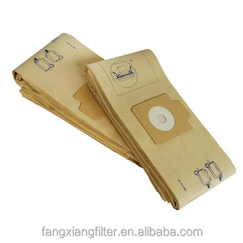 Since 2004, OEM, Rohs Home Appliancement replacement for Nilfisk GD930 and Electrolux UZ920 Vacuum Cleaner Brown Paper Dust Bag