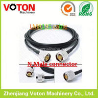 N Type Male to N Male Plug crimp with LMR195 electric cable jumper