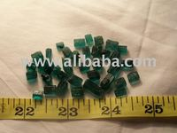 Emerald rough eye clean natural stones full color