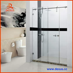 Hot Sale Tempered Glass Frameless Shower Screen For Hotel