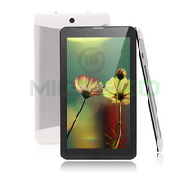 7 inch android call-touch smart tablet pc GPS Bluetooth zigbee pos RFID customized SIM 3G