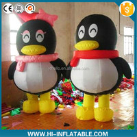Gaint Cartoon Character Latest Inflatable Penguin for sale