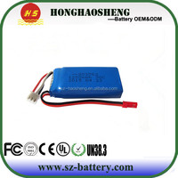 High Rate 30C Lipo Battery 803063 7.4v 1200mah Li-ion Battery Pack for X6 Quadcopter