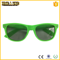 transparent 3d converter with polarized glasses