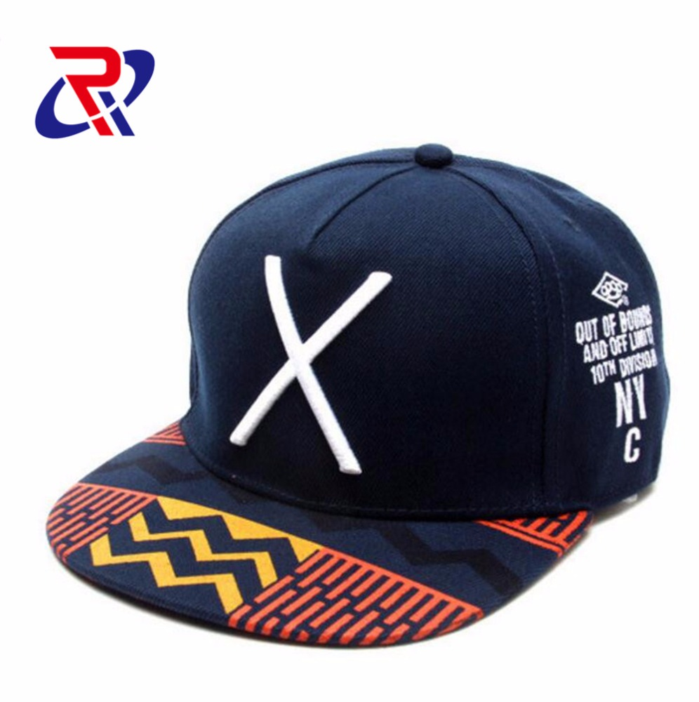 The Korean Version of The New Baseball <strong>Cap</strong> 3d Embroidery With X
