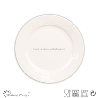 Cheap Embossed Salad Plate dessert plate in relief