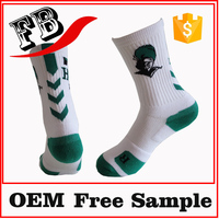 cotton athletic socks sport white socks wholesale custom thick sports sock