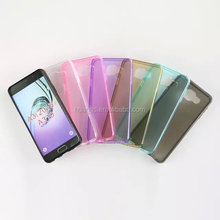 New Cell phone ultra thin transparent clear tpu gel silicone tpu case for samsung galaxy a3 2016 factory price