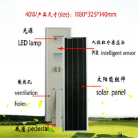 High Brightness Epistar Led Solar Powered Blinking Light