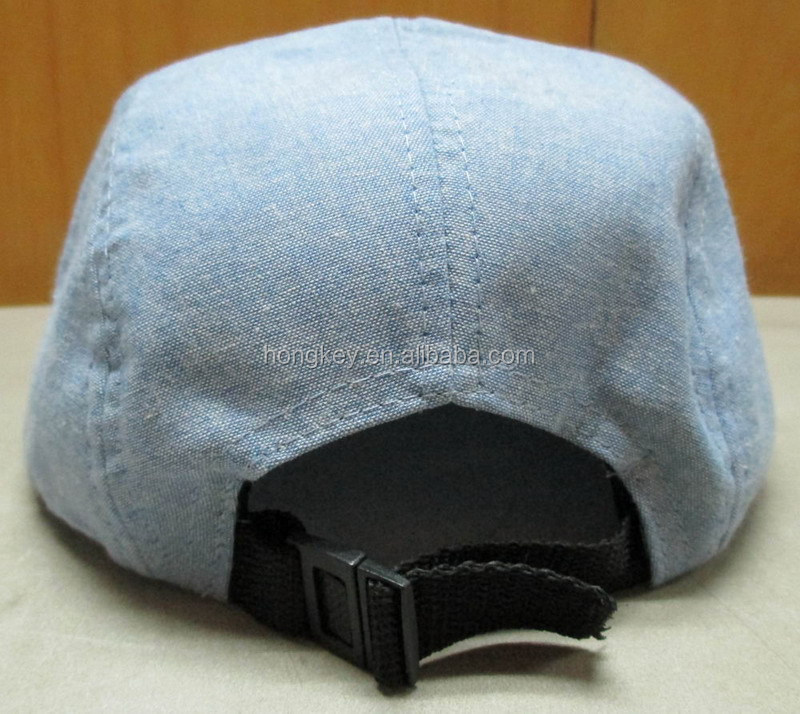 5 panel camp denim canvas hat
