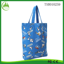 China wholesale new product cute snoopy women reusable shopping tote bag