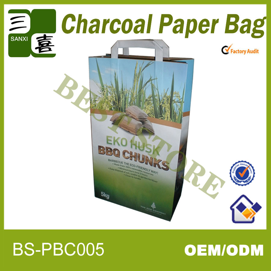 Different type of coal bag/charcoal packaging bag