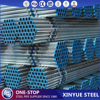 DN50 Hot Dipped Galvanized Steel Tube/welded steel pipe