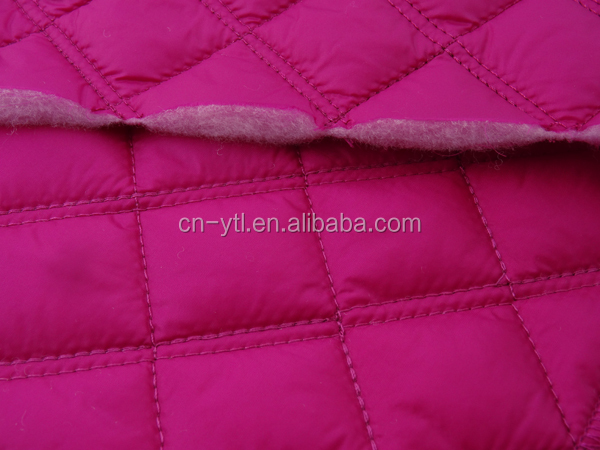 Garment Fabric Wholesale Padded Quilted Fabric