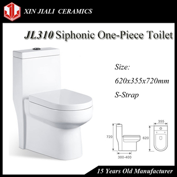 Chinese Good Price Ceramic One Piece Toilet