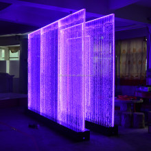 Digital Control LED water bubble wall , Computer Programe Dancing LED Bubble