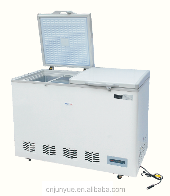 solar two compartment dc mobile refrigerator refrigeration refrigerating fridge freezing freezer