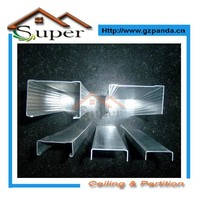 Structural Prefabricated Galvanized Gypsum Metal Profiles Roll Forming