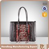 5114 Hot Sale Good Quality Python Classic Ladies Handbags Shopping Bag Bolsas