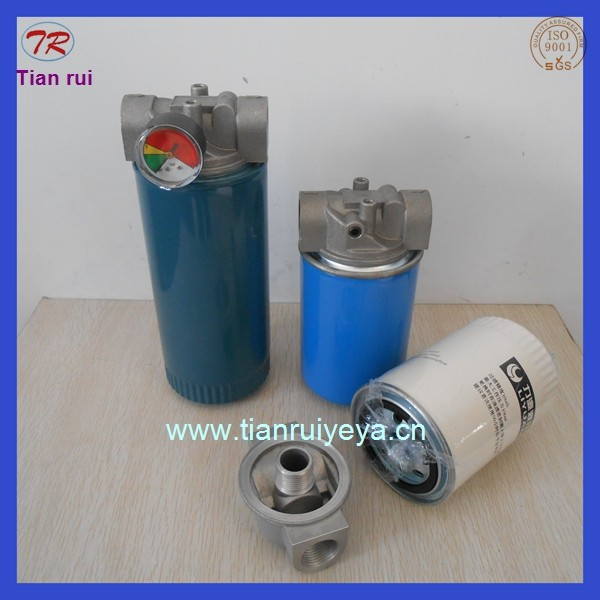 spin on hydraulic oil filter housing factory in Xinxiang