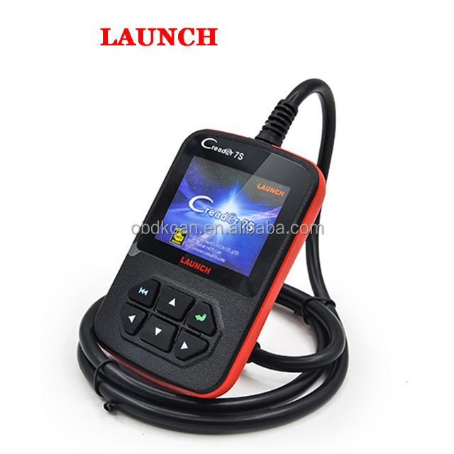 2017 New Released Original Launch X431 CReader 7S Code Reader add Oil Reset Function CReader 7 Plus Update Via Official Website
