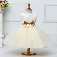 Korean Fashion Girl Style Dresses Different Colors Baby 3-8Y Party Flowers Girl Dress Pattern Party Wear Dresses for girls L2089