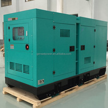Silent closed canopy Soundproof 125 kva Diesel Power Electric Generator Set