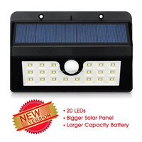 20 LED Solar Powered Motion Sensor