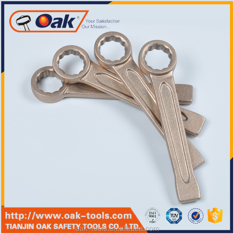 bronze drum plug bung wrench explosion proof of wrench} multi-function socket wrench