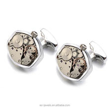 ESC852-3 Wholesale Customized Cufflinks With Colour Option