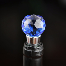 Fancy crystal wine bottle stopper for home and bar decoration