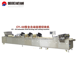fruit nut cereal candy bar snack cutting making machine/automatic candy food cutting forming machine/cruchy candy machine