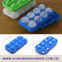 2016 factory hot sale Silicone ice ball mold
